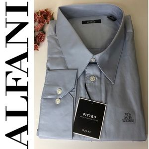 ALFANI Mens fitted button down